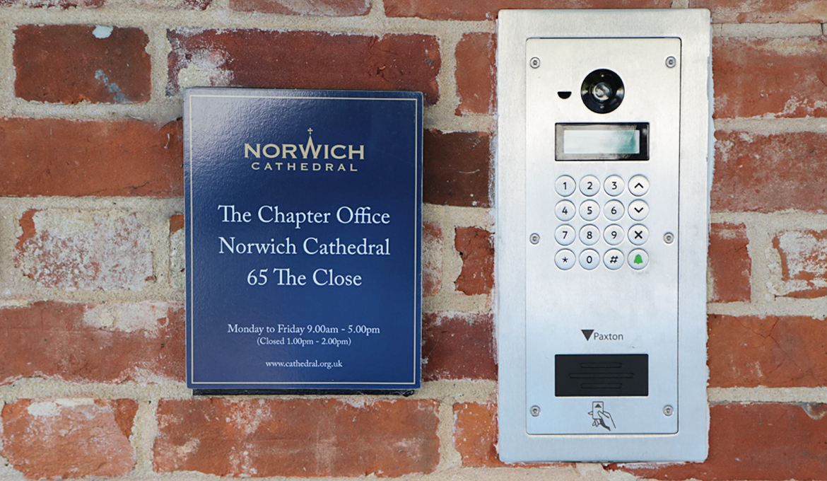 A picture of the sign outside the Chapter Office