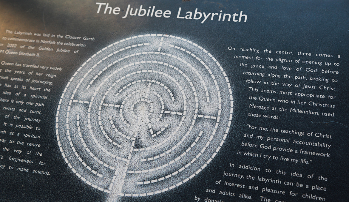 A picture of the Labyrinth map